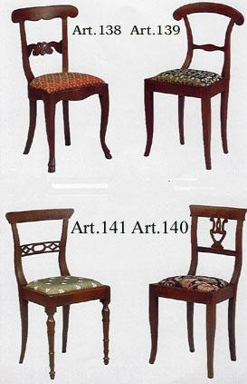 le sedie in faggio particolari
